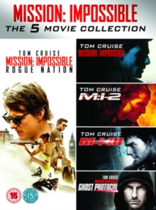 Mission Impossible 1-5, DVD  DVD