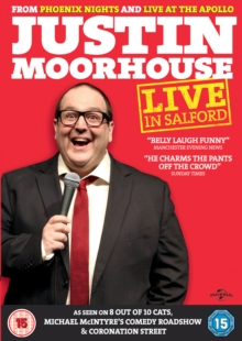 Justin Moorhouse: Live in Salford, DVD  DVD