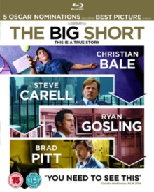The Big Short, Blu-ray BluRay
