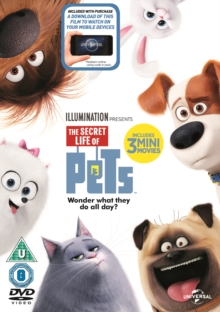 The Secret Life of Pets, DVD DVD