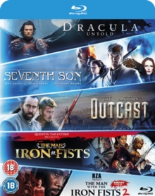 Dracula Untold/Seventh Son/Outcast/Man With the Iron Fists 1 & 2, Blu-ray BluRay