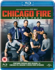 Chicago Fire: Season Four, Blu-ray DVD