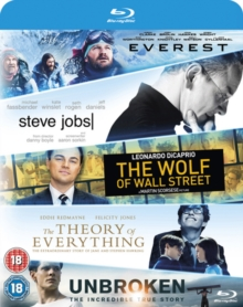 Everest/Steve Jobs/Wolf of Wall Street/Theory of Everything/..., Blu-ray BluRay