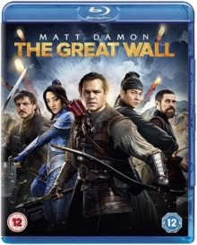 The Great Wall, Blu-ray BluRay