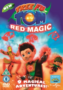 Tree Fu Tom: Red Magic, DVD DVD