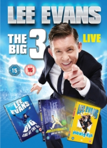 Lee Evans: The Big 3 Live, DVD DVD