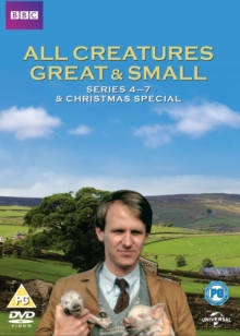 All Creatures Great and Small: Series 4-7, DVD DVD