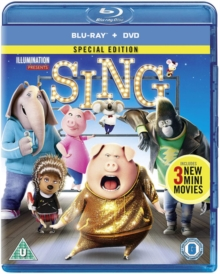 Sing, Blu-ray BluRay