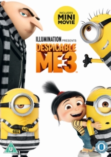 Despicable Me 3, DVD DVD