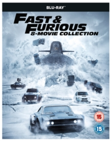 Fast & Furious: 8-movie Collection, Blu-ray BluRay