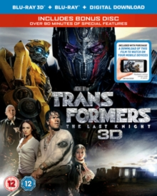 Transformers - The Last Knight, Blu-ray BluRay