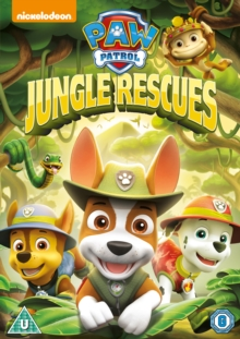Paw Patrol: Jungle Rescues, DVD DVD