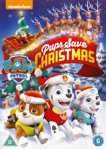 Paw Patrol: Pups Save Christmas, DVD DVD