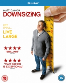 Downsizing, Blu-ray BluRay