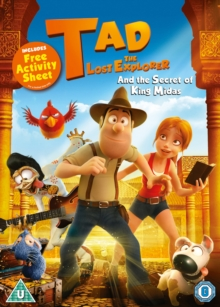 Tad the Lost Explorer and the Secret of King Midas, DVD DVD
