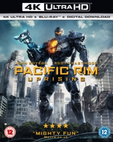 Pacific Rim - Uprising, Blu-ray BluRay