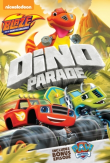Blaze and the Monster Machines: Dino Parade, DVD DVD