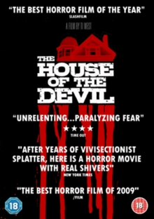 The House of the Devil, DVD DVD