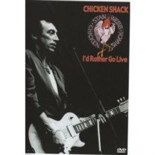 Stan Webb's Chicken Shack: I'd Rather Go Live, DVD  DVD
