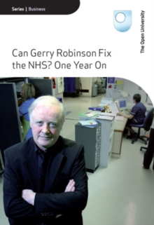 The Open University: Can Gerry Robinson Fix the NHS? - One..., DVD DVD