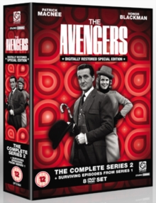 The Avengers: The Complete Series 2 and Surviving Episodes..., DVD DVD