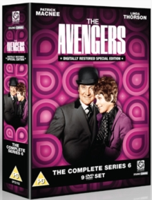 The Avengers: The Complete Series 6, DVD DVD