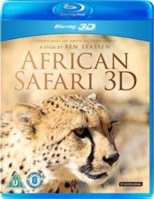 African Safari 3D, Blu-ray  BluRay