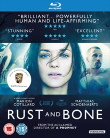 Rust and Bone, Blu-ray  BluRay