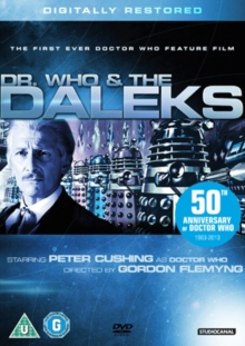 Doctor Who and the Daleks, DVD  DVD