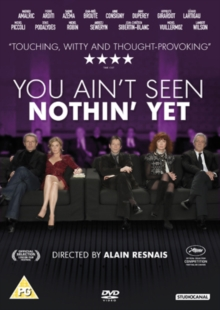 You Ain't Seen Nothin' Yet, DVD  DVD