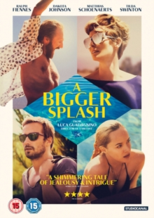 A   Bigger Splash, DVD DVD