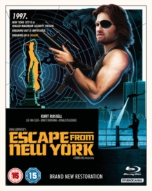 Escape from New York, Blu-ray BluRay