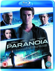 Paranoia, Blu-ray  BluRay