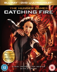 The Hunger Games: Catching Fire, Blu-ray BluRay
