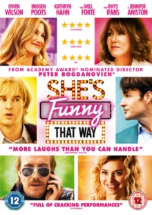 She's Funny That Way, DVD  DVD