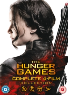 The Hunger Games: Complete 4-film Collection, DVD DVD