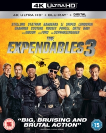 The Expendables 3, Blu-ray BluRay