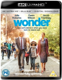 Wonder, Blu-ray BluRay