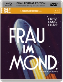 Frau Im Mond - The Masters of Cinema Series, Blu-ray BluRay