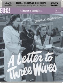 A   Letter to Three Wives - The Masters of Cinema Series, Blu-ray BluRay