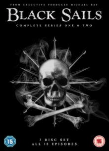 Black Sails: Complete Series One & Two, DVD DVD