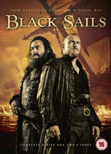 Black Sails: Complete Series One, Two & Three, DVD DVD