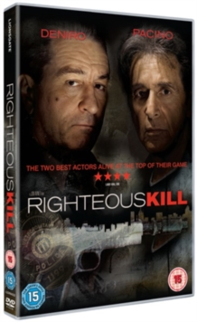 Righteous Kill, DVD  DVD
