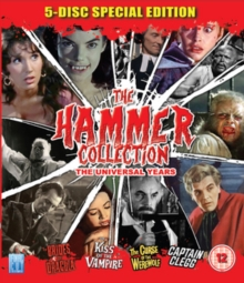 The Hammer Collection, Blu-ray BluRay
