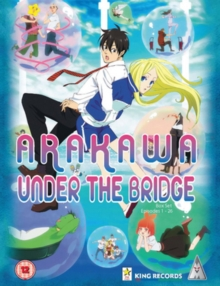 Arakawa Under the Bridge: Seasons 1 & 2, DVD DVD