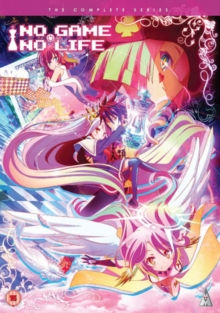No Game, No Life: The Complete Series, DVD  DVD