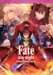 Fate/stay Night: Unlimited Blade Works - Part 2, DVD DVD