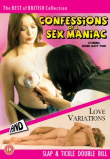 Confessions of a Sex Maniac/Love Variations, DVD  DVD