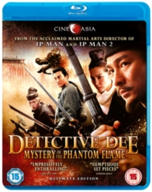 Detective Dee and the Mystery of the Phantom Flame, Blu-ray  BluRay