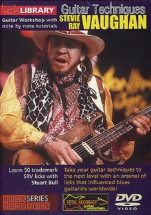 Lick Library: Stevie Ray Vaughan - Guitar Techniques, DVD  DVD